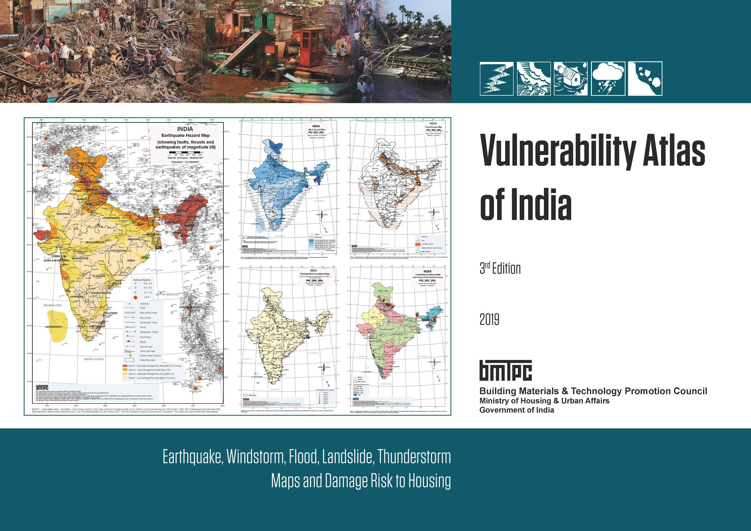 Vulnerability Atlas of India - 3rd Edition