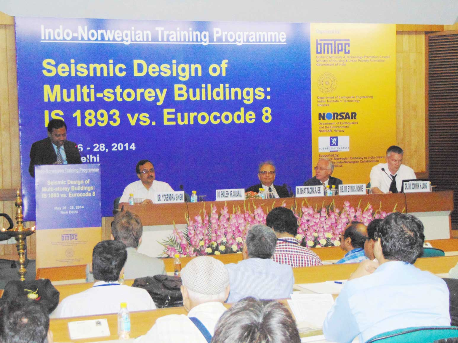 Indo-Norwegian Training Programme - May 2014